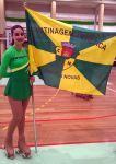 Adriana Sousa   vice-campeã distrital em juniores